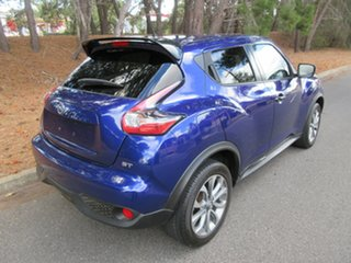 2015 Nissan Juke F15 Series 2 ST 2WD Blue 6 Speed Manual Hatchback.