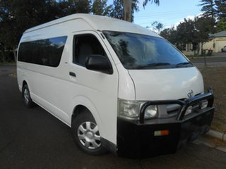 2006 Toyota HiAce KDH223R Commuter High Roof Super LWB 5 Speed Manual Bus.