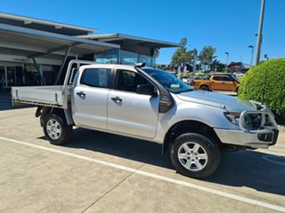 2011 Ford Ranger PX XL Silver 6 Speed Manual Cab Chassis.