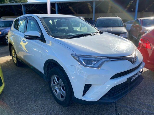 Used Toyota RAV4 ZSA42R GX 2WD Wickham, 2016 Toyota RAV4 ZSA42R GX 2WD White 7 Speed Constant Variable Wagon