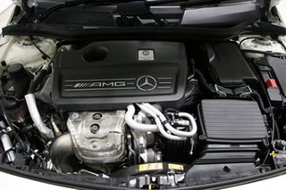 2018 Mercedes-AMG A45 176 MY18 4Matic White 7 Speed Auto Dual Clutch Hatchback