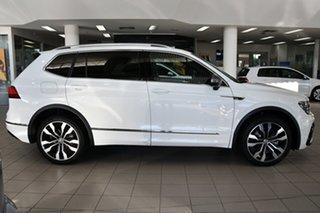 2021 Volkswagen Tiguan 5N MY21 140TDI Highline DSG 4MOTION Allspace Pure White 7 Speed
