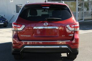 2015 Nissan Pathfinder R52 MY15 ST X-tronic 2WD Red 1 Speed Constant Variable Wagon Hybrid