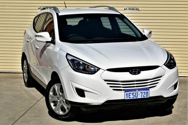 Used Hyundai ix35 LM3 MY15 Active Mount Lawley, 2015 Hyundai ix35 LM3 MY15 Active White 6 Speed Manual Wagon