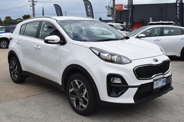 Used Kia Sportage QL MY20 SX 2WD Ferntree Gully, 2019 Kia Sportage QL MY20 SX 2WD White 6 Speed Manual Wagon
