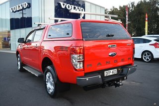 2016 Ford Ranger PX MkII XLT Double Cab Red 6 Speed Sports Automatic Utility