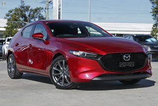 2021 Mazda 3 BP2H7A G20 SKYACTIV-Drive Evolve Red 6 Speed Sports Automatic Hatchback.