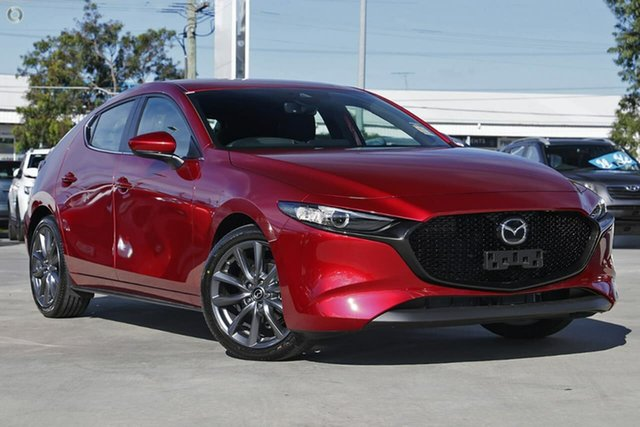 New Mazda 3 BP2H7A G20 SKYACTIV-Drive Evolve Waitara, 2021 Mazda 3 BP2H7A G20 SKYACTIV-Drive Evolve Red 6 Speed Sports Automatic Hatchback