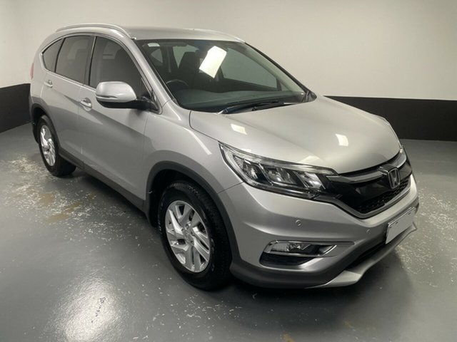 Used Honda CR-V RM Series II MY16 VTi-S 4WD Hamilton, 2015 Honda CR-V RM Series II MY16 VTi-S 4WD Silver 5 Speed Sports Automatic Wagon