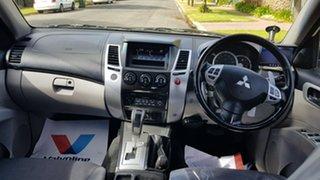 2011 Mitsubishi Challenger PB MY11 LS (7 Seat) (4x4) White 5 Speed Automatic Wagon