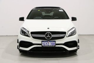2018 Mercedes-AMG A45 176 MY18 4Matic White 7 Speed Auto Dual Clutch Hatchback.