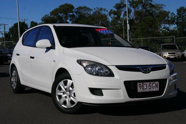 Used Hyundai i30 FD MY11 SX Hillcrest, 2011 Hyundai i30 FD MY11 SX White 5 Speed Manual Hatchback