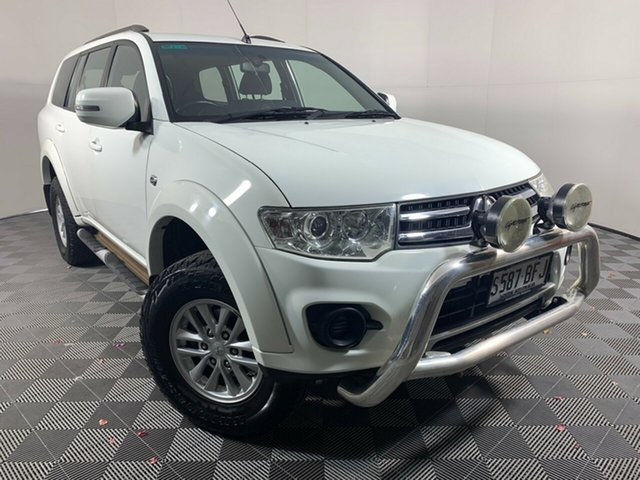 Used Mitsubishi Challenger PC (KH) MY14 LS Wayville, 2014 Mitsubishi Challenger PC (KH) MY14 LS White 5 Speed Sports Automatic Wagon