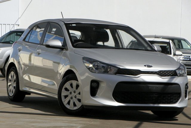 Used Kia Rio YB MY20 S Bundamba, 2019 Kia Rio YB MY20 S Silver 4 Speed Sports Automatic Hatchback
