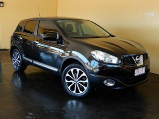 2012 Nissan Dualis J10 Series 3 TI-L (4x2) Black 6 Speed CVT Auto Sequential Wagon.