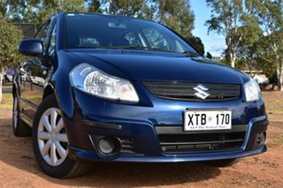 2008 Suzuki SX4 GYA Blue 4 Speed Automatic Hatchback.