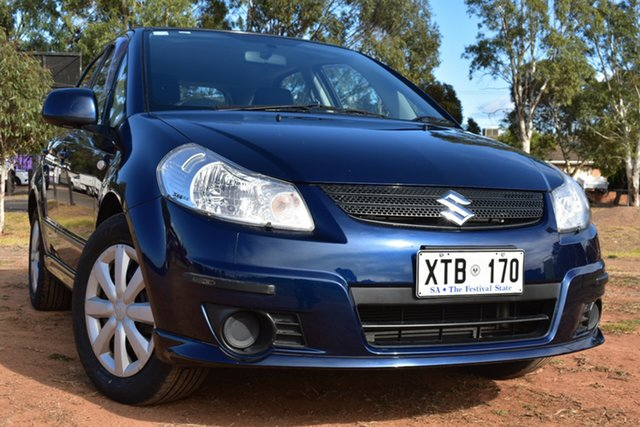 Used Suzuki SX4 GYA St Marys, 2008 Suzuki SX4 GYA Blue 4 Speed Automatic Hatchback