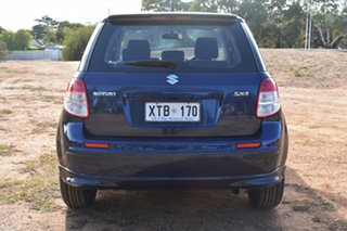 2008 Suzuki SX4 GYA Blue 4 Speed Automatic Hatchback