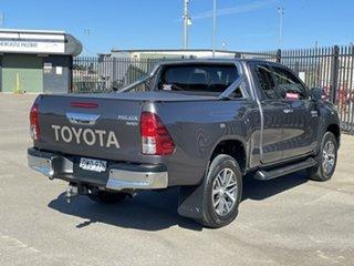 2018 Toyota Hilux GUN126R SR5 Extra Cab Grey 6 Speed Sports Automatic Utility