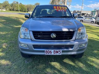 2004 Holden Rodeo RA LT Crew Cab Grey 5 Speed Manual Utility