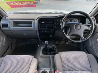 1999 Holden Rodeo TF R9 LX White 5 Speed Manual Utility.