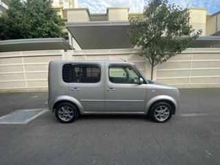 2005 Nissan Cube BZ11 Silver 4 Speed Automatic Wagon.