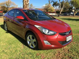 2012 Hyundai Elantra MD Elite Red Allure 6 Speed Sports Automatic Sedan