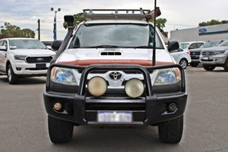 2008 Toyota Hilux KUN26R MY09 SR White 5 Speed Manual Utility.
