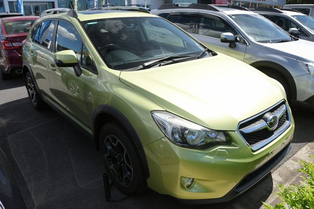 Used Subaru XV G4X MY14 2.0i-S Lineartronic AWD Aspley, 2014 Subaru XV G4X MY14 2.0i-S Lineartronic AWD Green 6 Speed Constant Variable Wagon