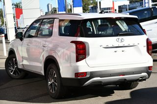 2020 Hyundai Palisade LX2.V1 MY21 (8 Seat) White Cream 8 Speed Automatic Wagon.