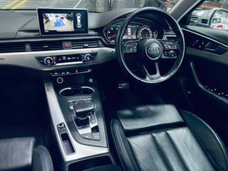 2016 Audi A4 B9 8W MY16 Sport S Tronic Quattro Silver 7 Speed Sports Automatic Dual Clutch Sedan.