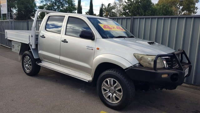 Used Toyota Hilux KUN26R MY12 SR (4x4) Prospect, 2012 Toyota Hilux KUN26R MY12 SR (4x4) Silver 5 Speed Manual Dual Cab Pick-up