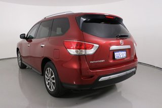 2015 Nissan Pathfinder R52 MY15 ST (4x2) Red Continuous Variable Wagon