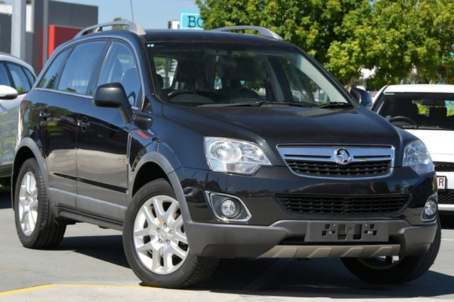 Used Holden Captiva CG Series II MY12 5 Aspley, 2012 Holden Captiva CG Series II MY12 5 Black 6 Speed Manual Wagon