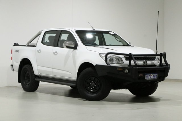 Used Holden Colorado RG MY16 LTZ (4x4) Bentley, 2015 Holden Colorado RG MY16 LTZ (4x4) White 6 Speed Automatic Crew Cab Pickup