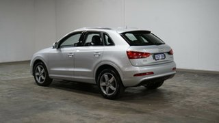 2013 Audi Q3 8U MY14 TDI S Tronic Quattro Silver 7 Speed Sports Automatic Dual Clutch Wagon.