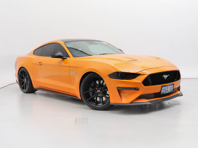 Used Ford Mustang FN Fastback GT 5.0 V8, 2018 Ford Mustang FN Fastback GT 5.0 V8 TICKFORD ORANGE 6 Speed Manual Coupe