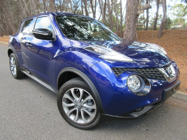 Used Nissan Juke F15 Series 2 ST 2WD Reynella, 2015 Nissan Juke F15 Series 2 ST 2WD Blue 6 Speed Manual Hatchback