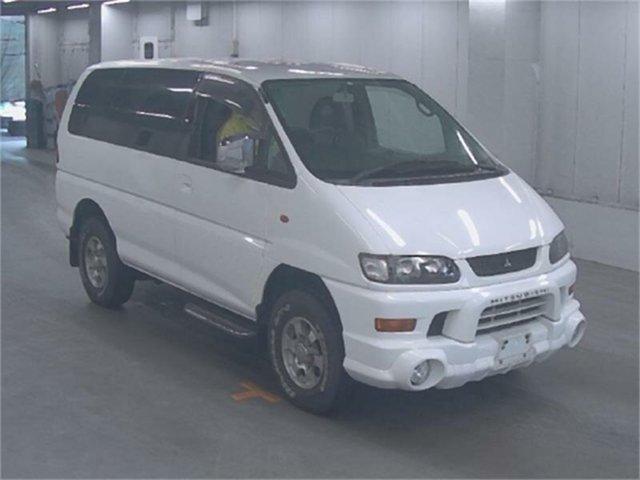 Used Mitsubishi Delica Silverwater, 2004 Mitsubishi Delica PD6W Spacegear White Automatic Van Wagon