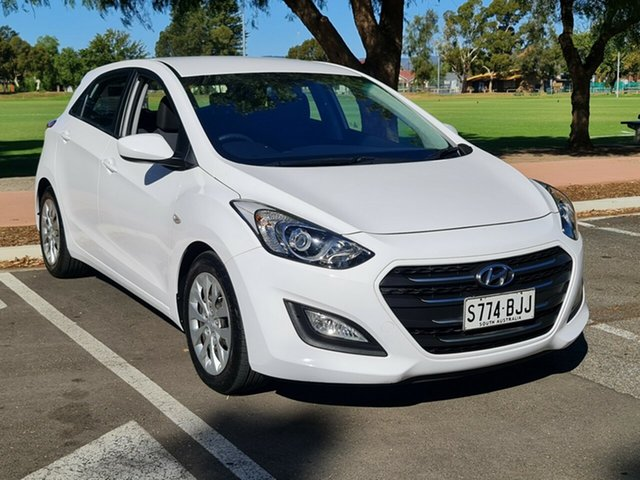 Used Hyundai i30 GD3 Series II MY16 Active Nailsworth, 2015 Hyundai i30 GD3 Series II MY16 Active White 6 Speed Manual Hatchback