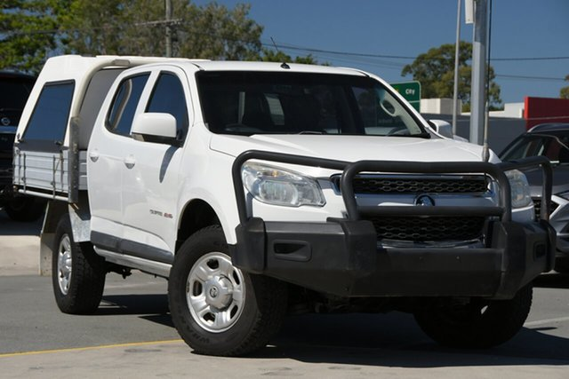 Used Holden Colorado RG MY16 LS Crew Cab 4x2 Aspley, 2016 Holden Colorado RG MY16 LS Crew Cab 4x2 White 6 Speed Sports Automatic Cab Chassis