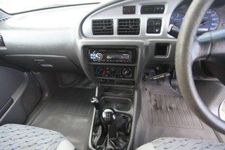 2003 Mazda Bravo B2500 DX White 5 Speed Manual Cab Chassis.
