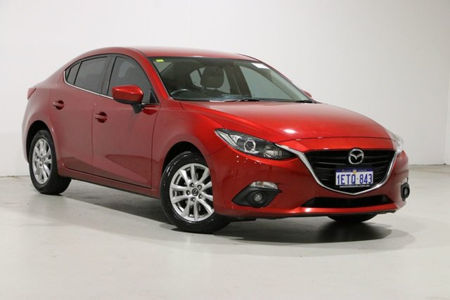 Used Mazda 3 BM MY15 Touring Bentley, 2015 Mazda 3 BM MY15 Touring Soul Red 6 Speed Automatic Sedan