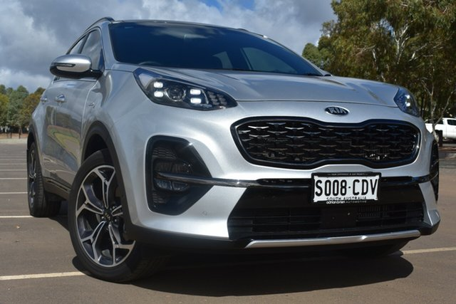 Used Kia Sportage QL MY19 GT-Line AWD St Marys, 2019 Kia Sportage QL MY19 GT-Line AWD Silver 8 Speed Sports Automatic Wagon