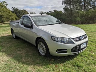 2013 Ford Falcon FG MkII Ute Super Cab Silver 6 Speed Automatic Utility