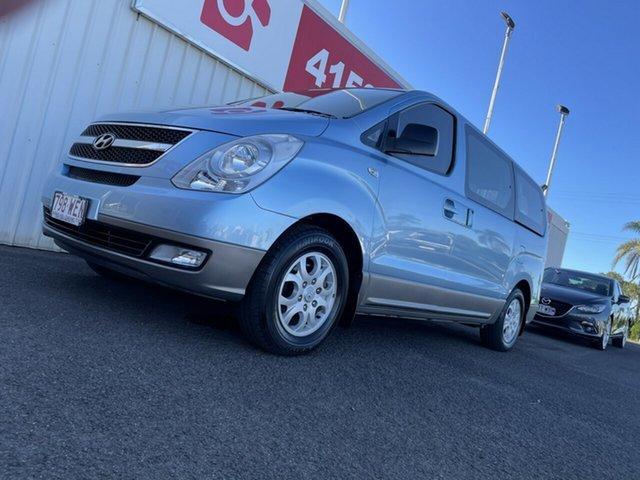 Used Hyundai iMAX TQ-W Bundaberg, 2010 Hyundai iMAX TQ-W Blue 4 Speed Automatic Wagon