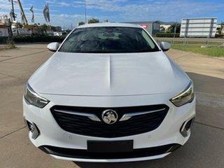 2018 Holden Commodore ZB MY18 RS Liftback White/160519 9 Speed Sports Automatic Liftback