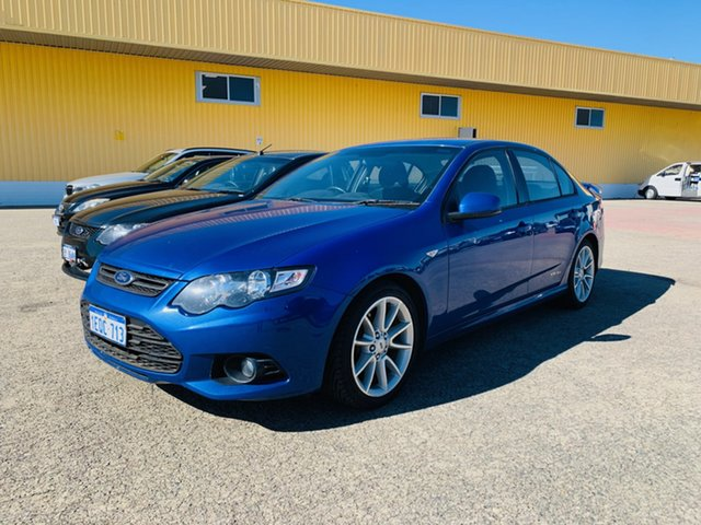 Used Ford Falcon FG MkII XR6 Canning Vale, 2013 Ford Falcon FG MkII XR6 Blue 6 Speed Sports Automatic Sedan