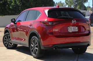 2017 Mazda CX-5 KF4WLA GT SKYACTIV-Drive i-ACTIV AWD Red 6 Speed Sports Automatic Wagon.