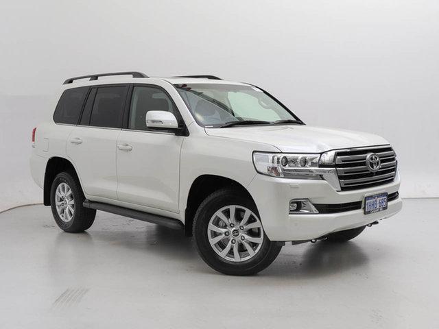 Used Toyota Landcruiser VDJ200R LC200 VX (4x4), 2021 Toyota Landcruiser VDJ200R LC200 VX (4x4) PEARL 6 Speed Automatic Wagon